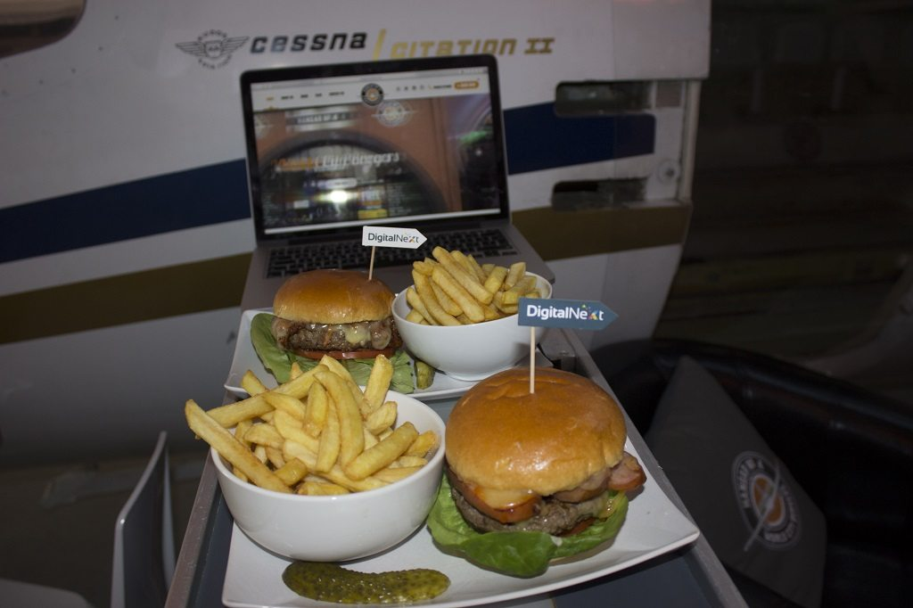 Hangar No.4 burgers