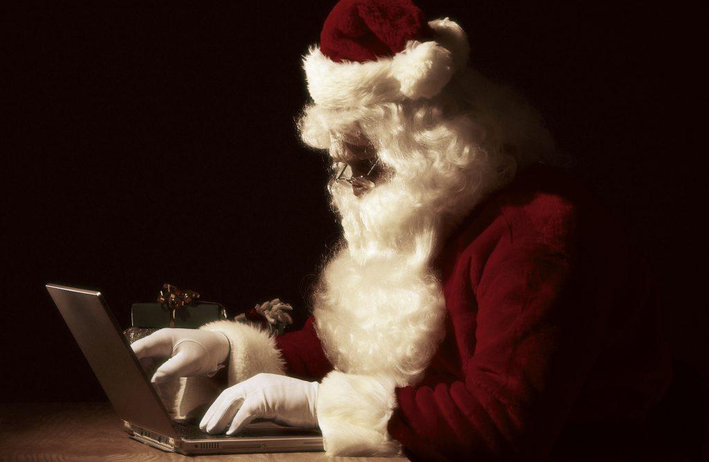 christmas blogging