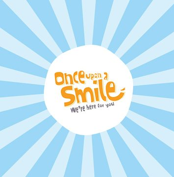 once upon a smile logo