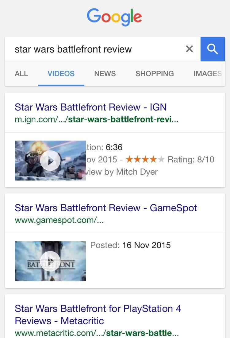 Star Wars Battlefront video review