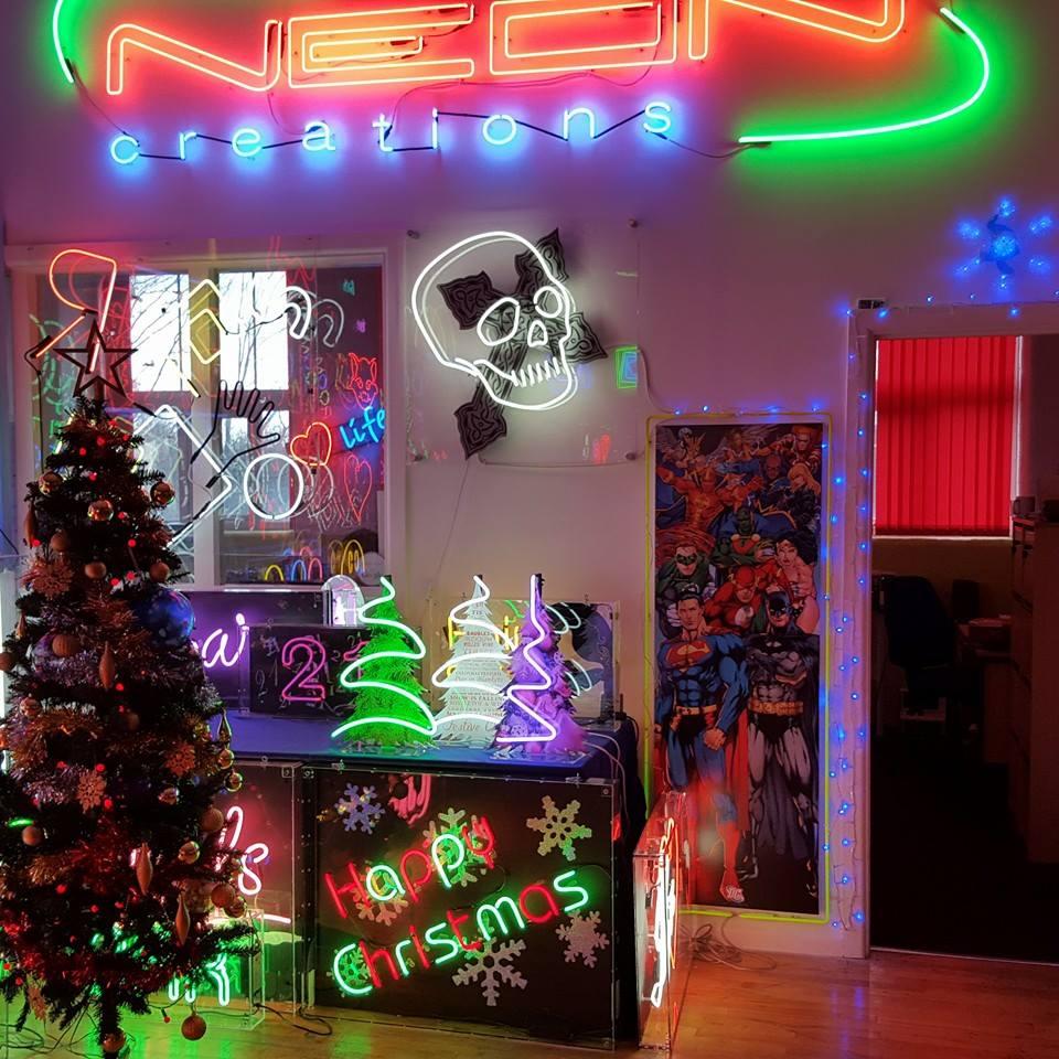 Christmas Neon Creations