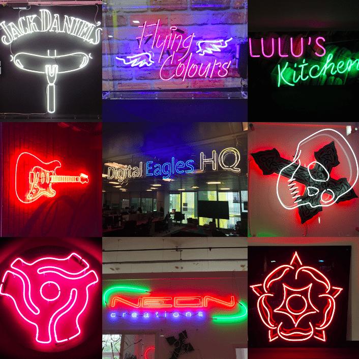 Neon creations Top 12
