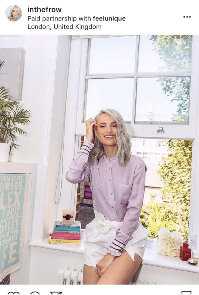 inthefrow feel unique partnership